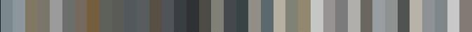 RAL Grey shades